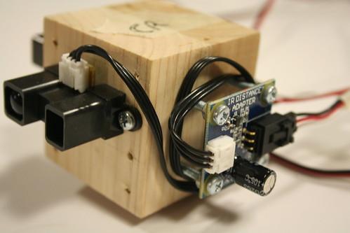 Mounted sensor and adapter
