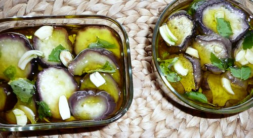 melanzane con aglio e menta2