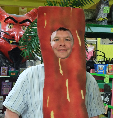 Me as Bacon with Devil
