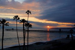 San Clemente Sunset (Terry.Tyson) Tags: california sunset storm palms pier sanclemente californiathunderstorms
