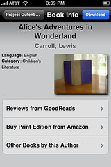 Downloading Alice in Wonderland from Project Gutenberg with Stanza