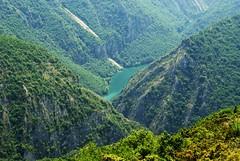 Matka Canyon from Vodno (kosova cajun) Tags: lake landscape scenery hiking macedonia balkans chialpha universityofarizona ezero makedonija vodno peisazh southeasterneurope lakematka matkacanyon