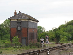 Princes Risborough signalbox (rcarpe2) Tags: railway disused princes signalbox risborough chinnor