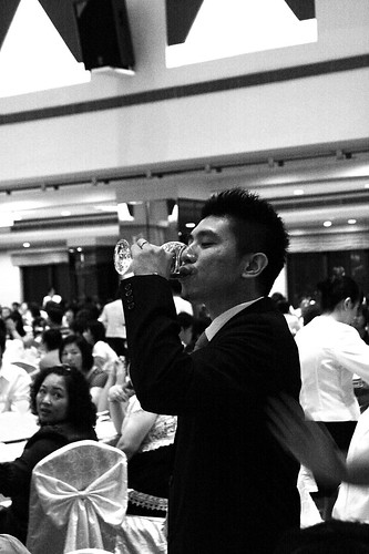 RK wedding 乾杯