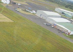 I Can See My Car From Here (cessna152towser) Tags: airport aerial renault carlisle fromtheair kangoo trekka