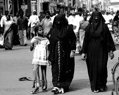 Women of Islam, India 2007 (Jonathan Schoonhoven) Tags: india muslim islam hijab niqab burka vijayawada andrapradesh