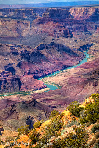Colorado River - Grand View Overlook