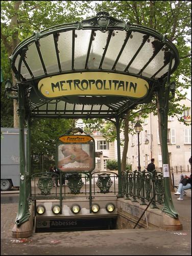 Abesses metro
