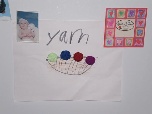 Yarn magnets A