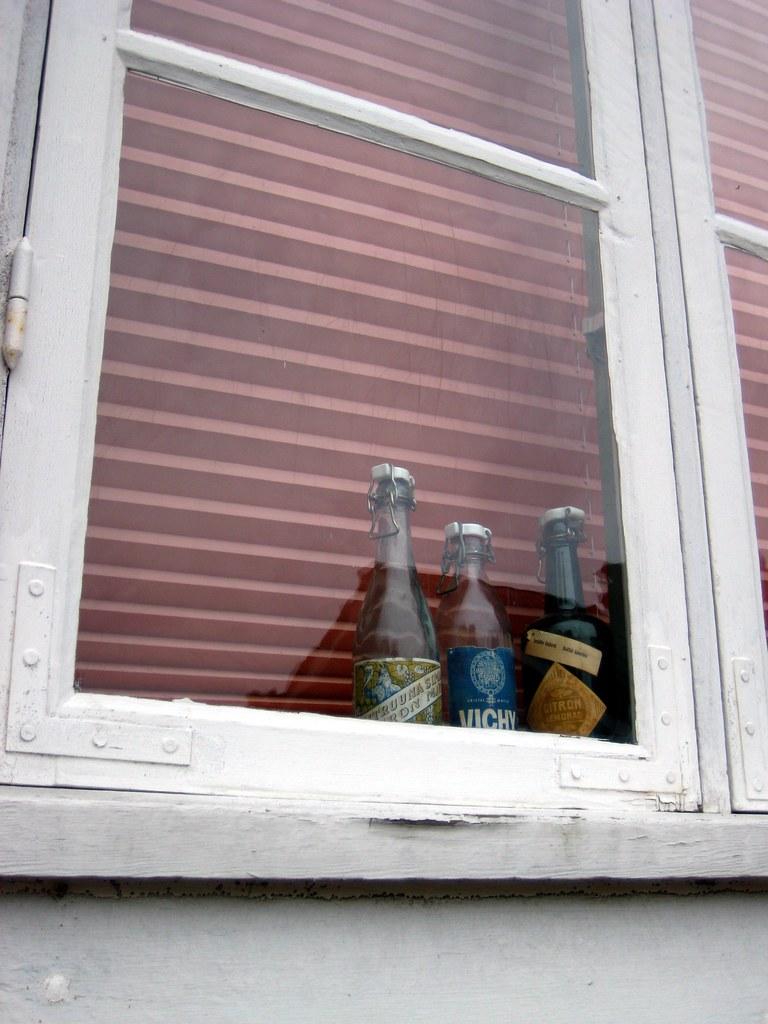 En la ventana