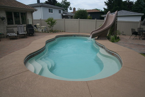 Vinyl Pool to Fiberglass Pool:  A Backyard Transformation!