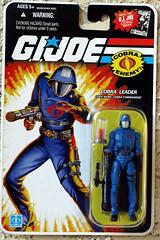 25th Joe - Cobra Commander carded
