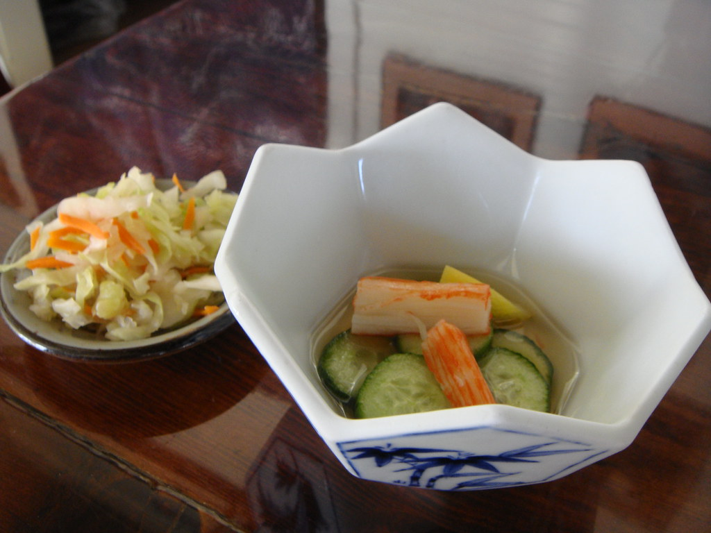 Cucumber Salad, Cabbage Pickles