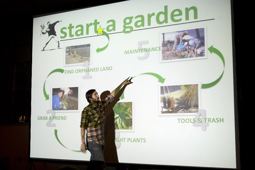 Mr. Stamen of LA Guerrilla Gardening