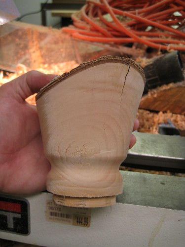 Jacaranda bowl rough with large check