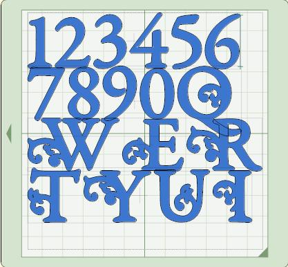 gypsy font cart images