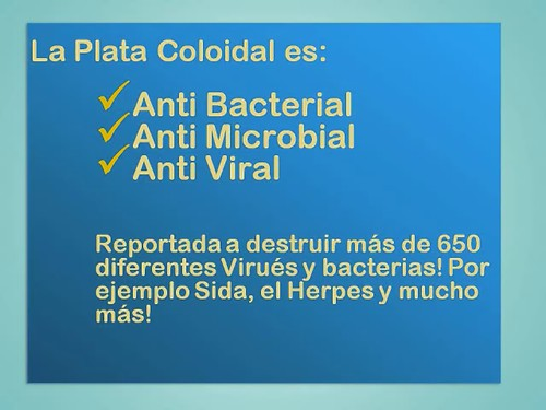 Plata Coloidal  Prata Colloidal 3000 PPM Spanish