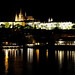 Praha Castle at night