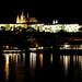 Praha Castle at night