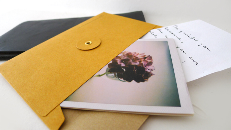 KRAFT envelopes (regular with string / orange)