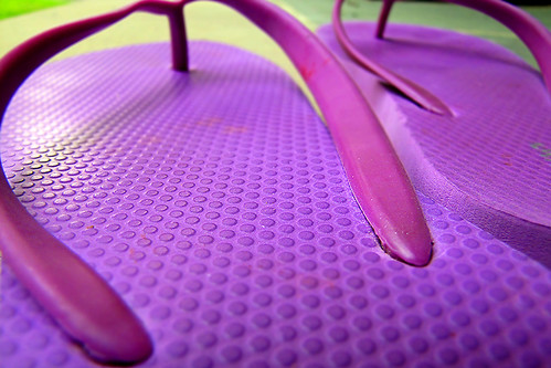 Color day 9 - The texture of color
