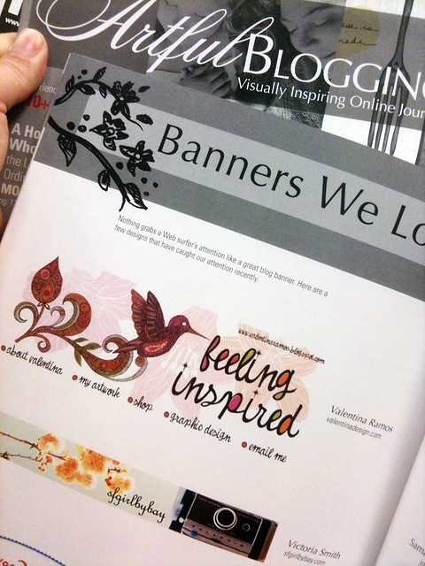 My blog banner