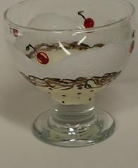 Chocolate Chip Ice Cream Bowl (cr43ew) Tags: paintedflowers etsycolumbusteam handpaintedborders paintedspraysofflowers designsforwallpainting interiordecorativepainting thepaintedhouseandmore customhandpaintedbordersforyourhomeoroffice