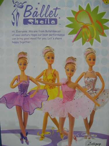 Ballet Sheila Box Engrish