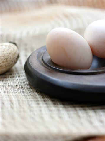 organic duck egg