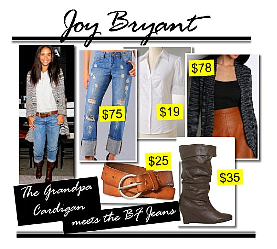 Joy Bryant in BF jeans