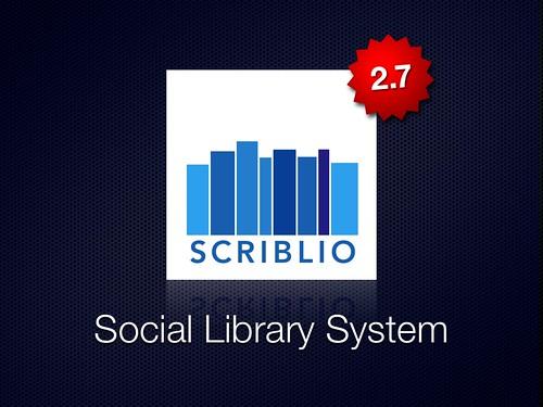 Scriblio 2.7 Released