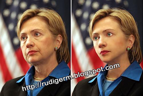 Hillary Clinton Rejuvenecida