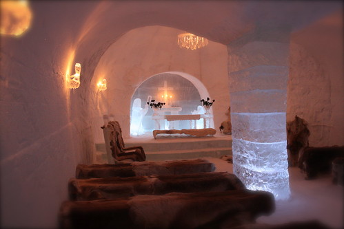 Alta Igloo Hotel: The Ice Chappel