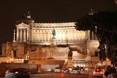 Vittoriano by night (Supersubway) Tags: trip travel italy rome roma vw golf luca community italia viaggio fori imperiali nismo vittoriano raduno