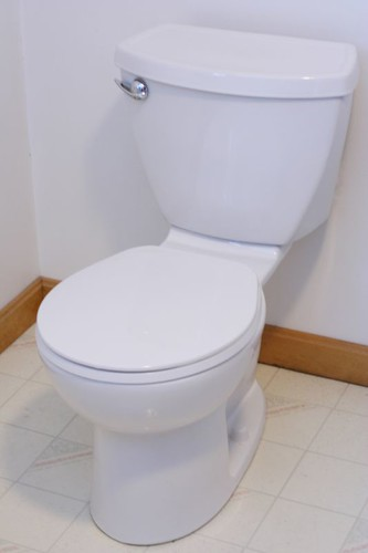The new toilet!