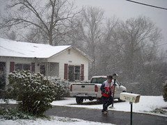 Double Disaster: Alabama Tornado and Snow Relief  3.1.09