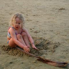 MermaiD (albert_8) Tags: sea two baby cute sexy beach girl beautiful swim child little sweet gorgeous adorable kerala varkala bikini shore lovely mermaid piece