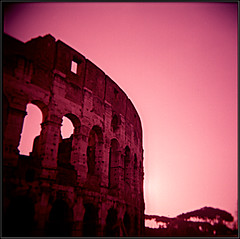 Past Will Always Be My Present (TheGlieseMantra) Tags: roma holga coliseum colosseo astia n23p