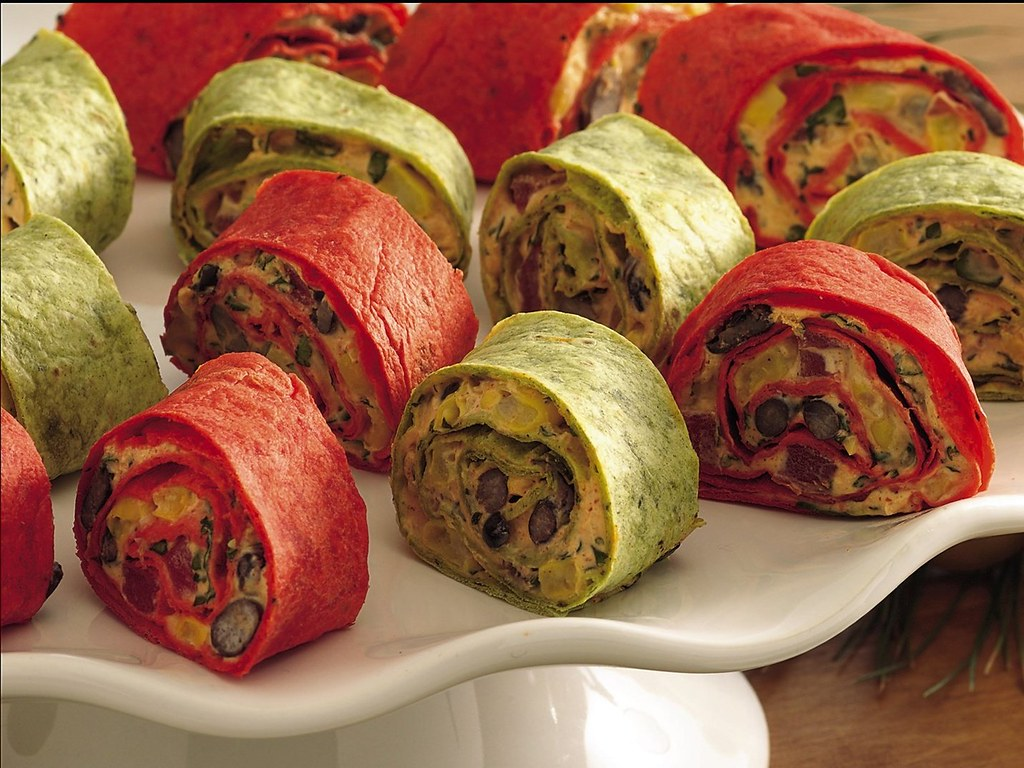 RECIPE: Mexican Vegetable Roll-Ups