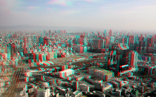 GORIMON's [3D-OSAKA] anaglyph-high resolution version_090204_137