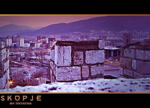Skopje View from the Tower