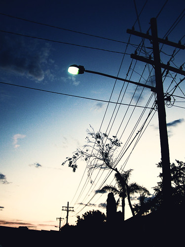 Street lights/Powerlines / Fleur Jacqueline