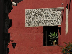 DDPE07-085 (David Ducoin) Tags: architecture religion arequipa couleur tourisme pérou coloniale