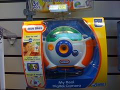 Little Tikes $25 digital camera at Radio Shack