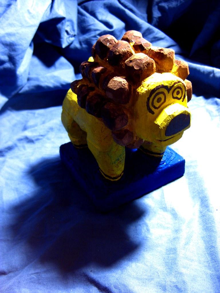 Folk Toy (lion)