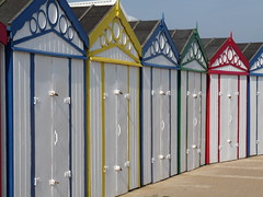 """All Spruced Up"" (tickerty) Tags: beach norfolk seafront beachhuts gtyarmouth"