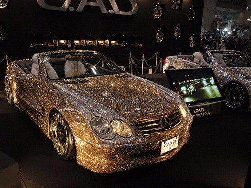 Mercedes Crystal Benz