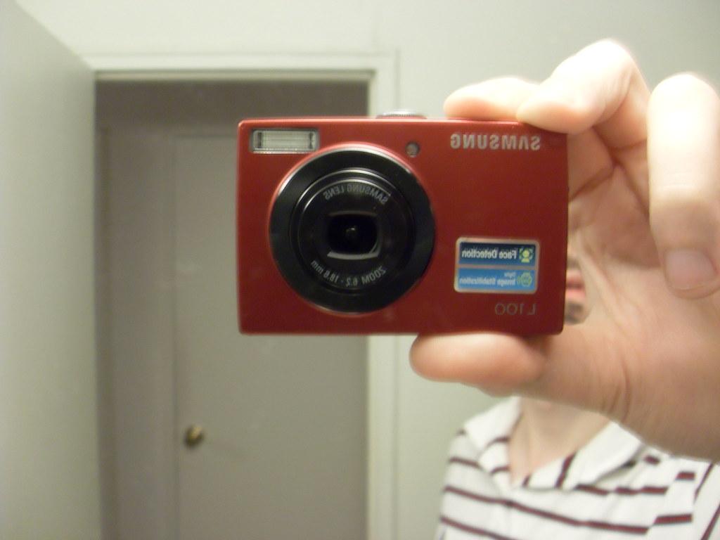 Bought a pocket camera: Samsung L100 (040/365)