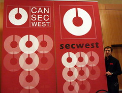 CanSecWest banner and Dragos