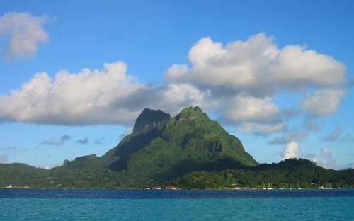 La isla de Bora Bora